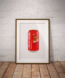 At the Meta: Fiera Cola Can Painting