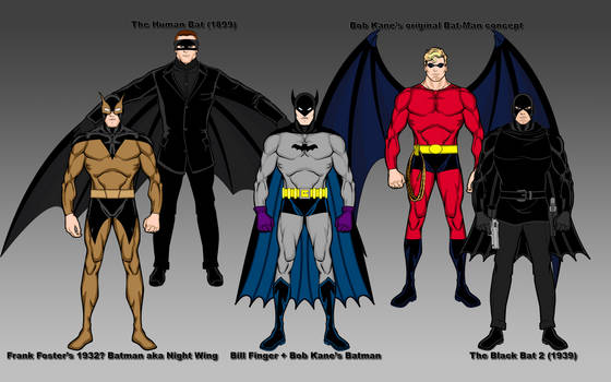 Bat-Man Origins, Rev 4
