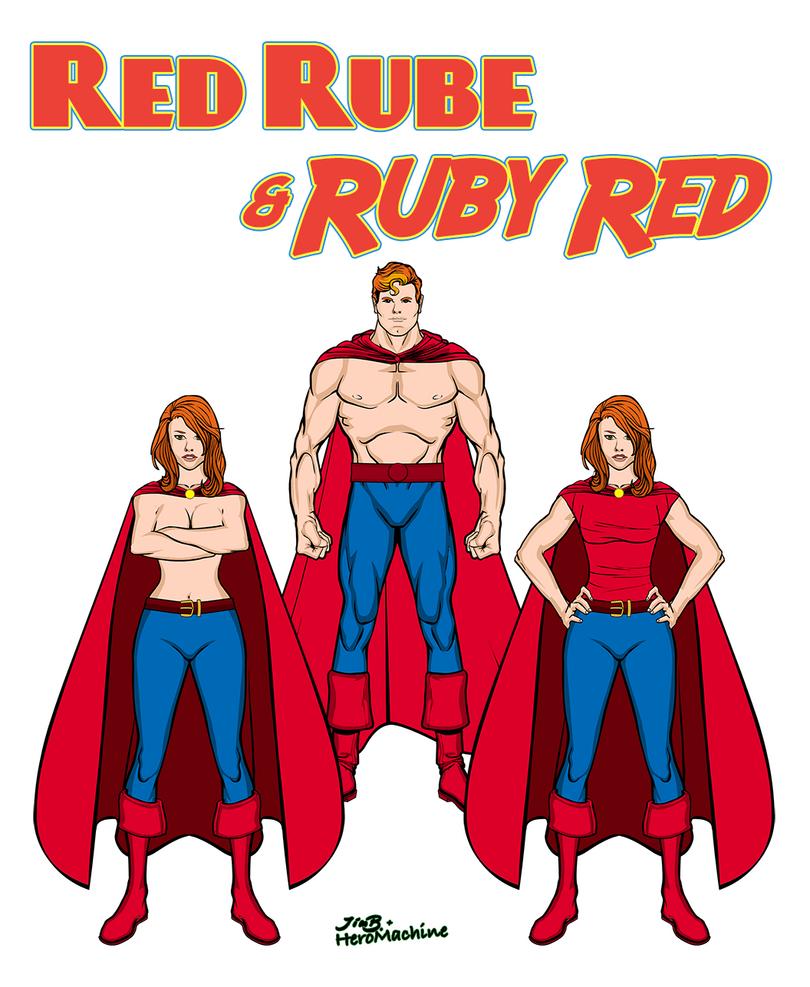 Red Rube + Ruby Red by Eldacur