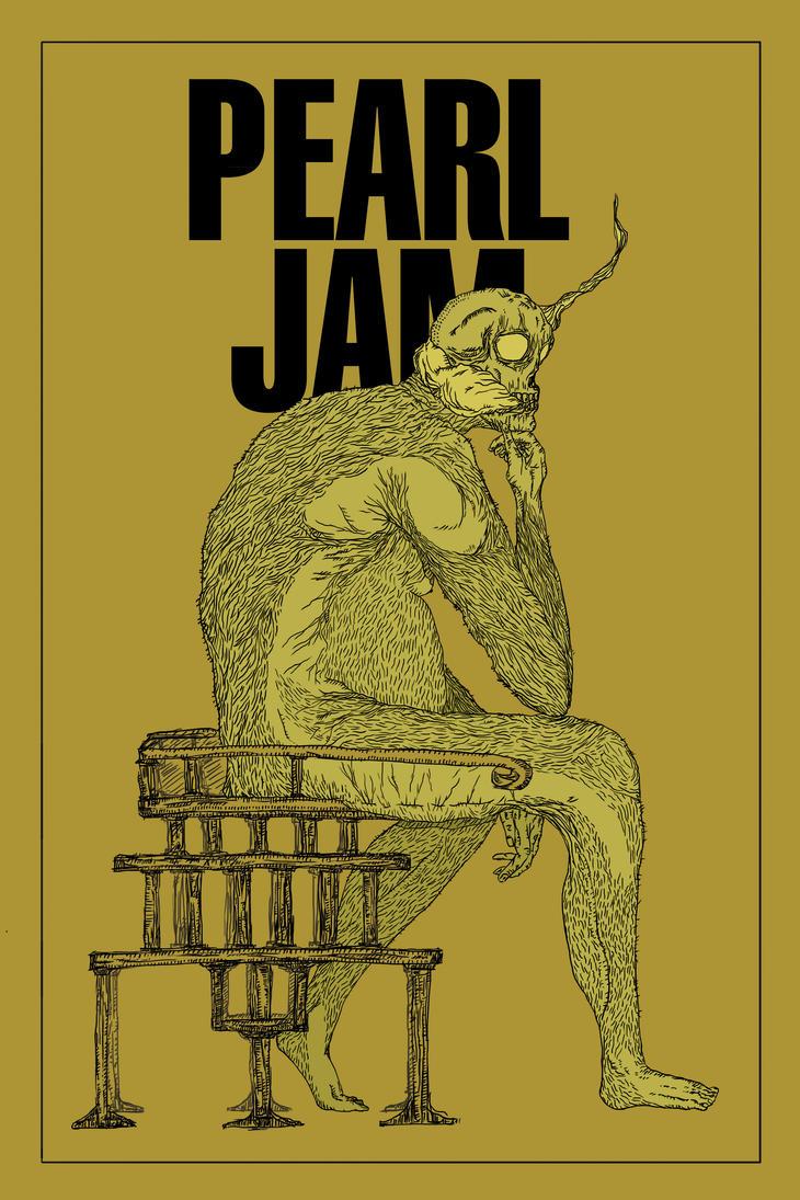 Poster Pearl Jam Rgb by mosquitorojo
