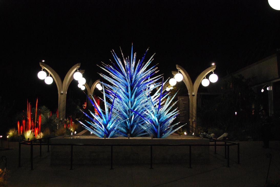 Chihuly Exhibit Denver Botanic Gardens 2014 By Cwlodarczyk On Deviantart
