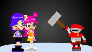 ami and yumi meets tex