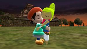 best friends hugs