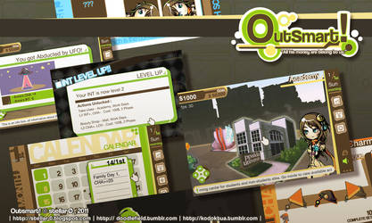 Outsmart: screenshots by Lazcht