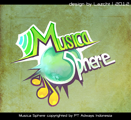 Musica Sphere logo by Lazcht