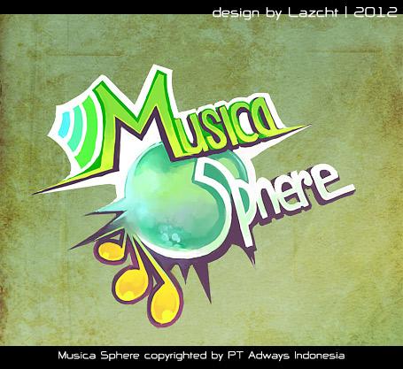 Musica Sphere logo by Lazcht