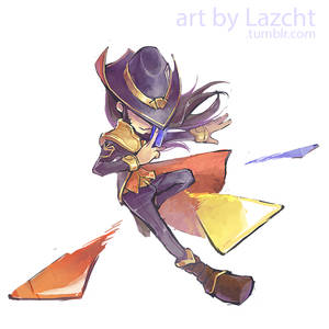 League of Legends: Twisted Fate by Lazcht