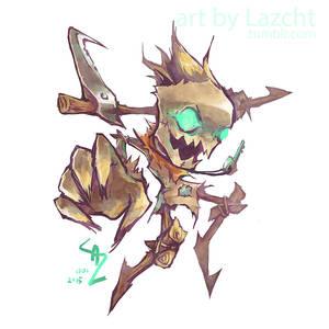 League of Legends: Fiddlesticks by Lazcht