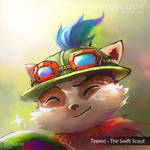 Capt. Teemo on duty! by Lazcht