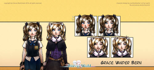 Canvas World Chronicle - Grace by Lazcht