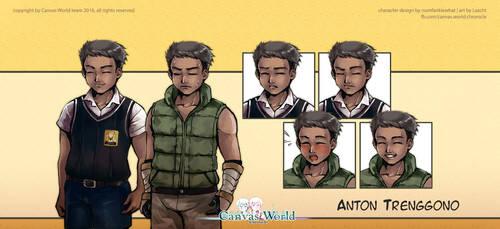 Canvas World Chronicle - Anton by Lazcht