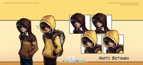 Canvas World Chronicle - Harto by Lazcht