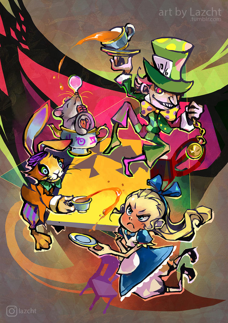 The Stupidest Tea Party by Lazcht