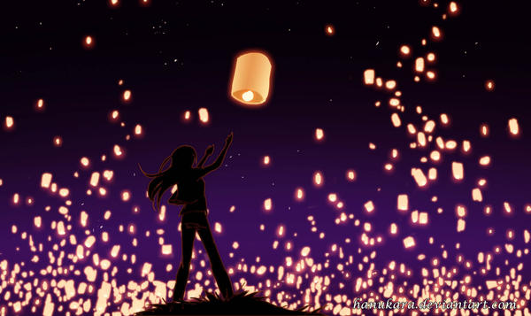 how to draw lantern festival