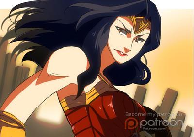 Wonder Woman by hanukara