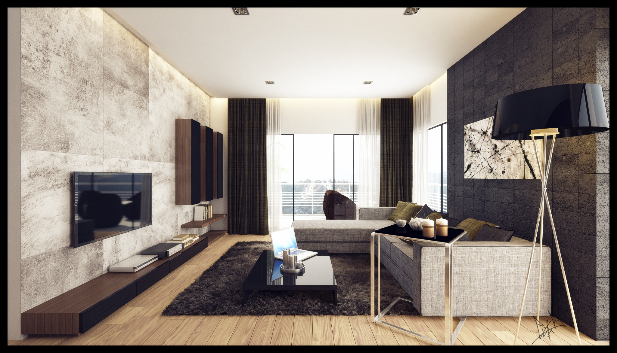 Bayu_LivingRoom_1 by dragon2525
