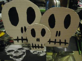 Skulls by EmoHikaruChan