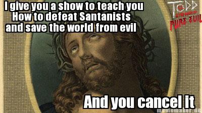 Jesus is not impressed by EmoHikaruChan