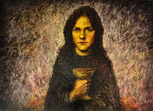 Girl with the Cup