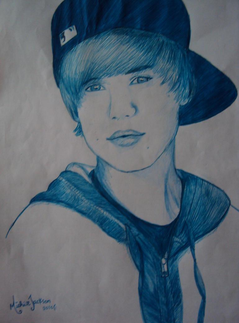 Zayn Malik Drawing Of Justin Bieber Justin bieber byZayn Malik Drawing Of Justin Bieber