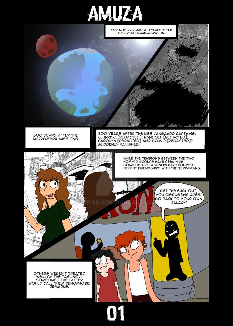 AMUZA [PAGE 01] by Hiitsuji