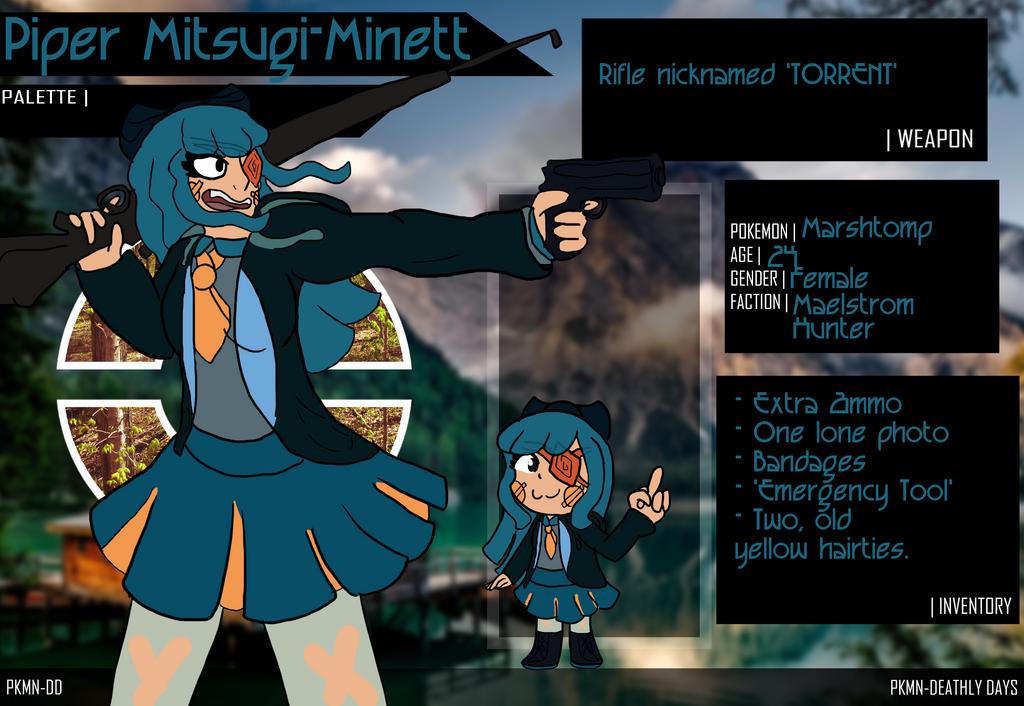 [DD] Piper Mitsugi-Minett by Hiitsuji