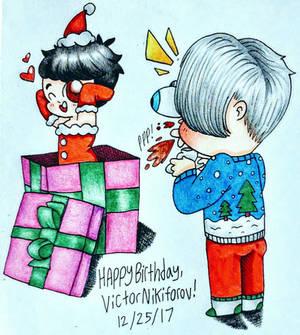 Happy 29th Birthday, Victor Nikiforov!