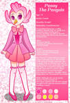 Penny The Penguin (Character Sheet) by AngelicArtistGirl