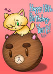 Happy 18th Birthday, Yuri P.! [YOI] by AngelicArtistGirl
