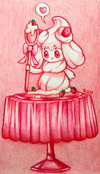 Alcremie [PSAS] by AngelicArtistGirl