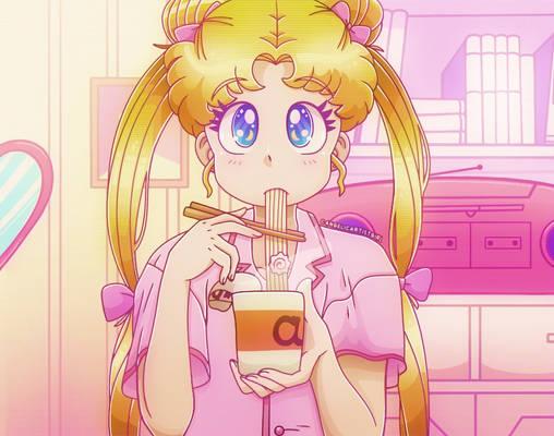 Sailor Moon Redraw Challenge #3