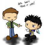 SPN - Remedy to sneaky angels