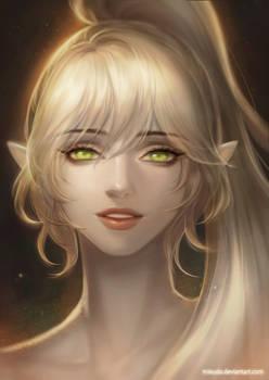 Commission: Elf lady