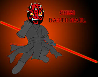 Chibi DarthMaul by BladeBaT