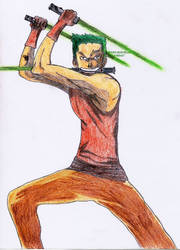 Jedi Knight Zoro by BladeBaT