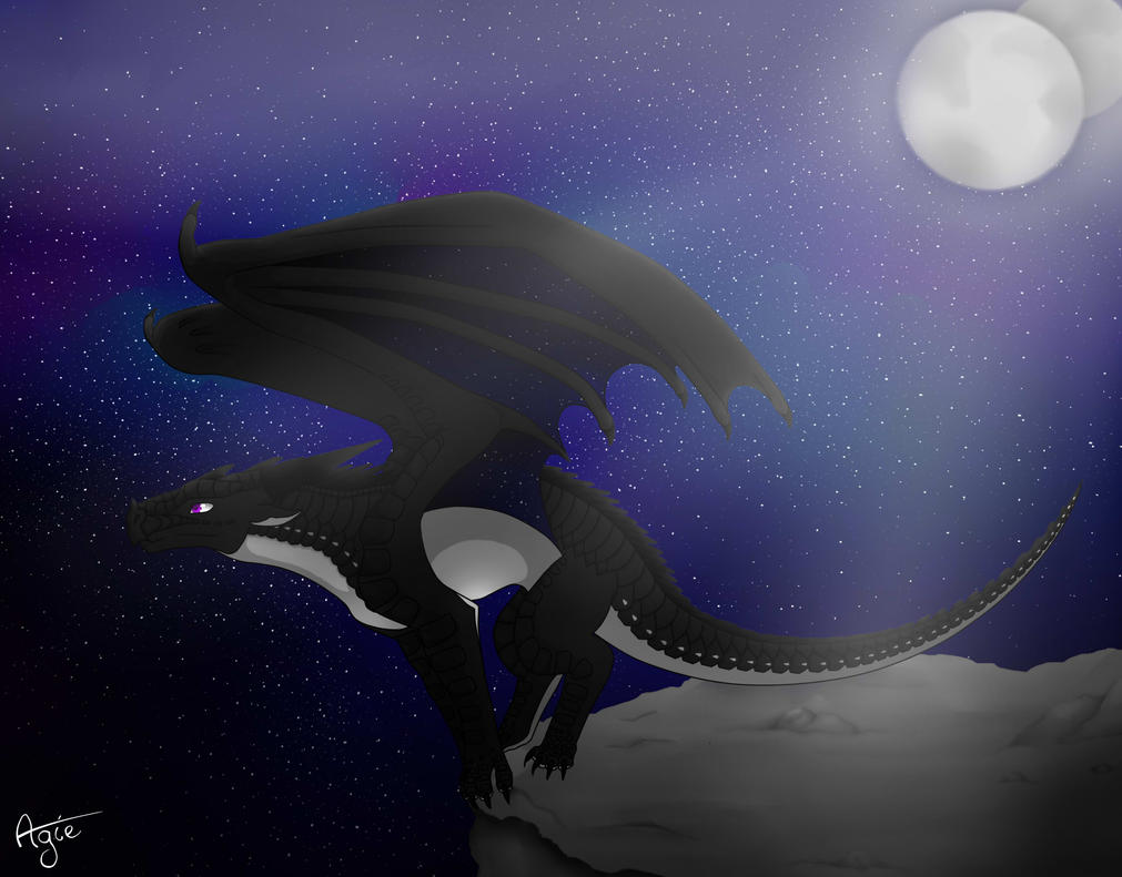 ♡Ma galerie de dessin♡ Acerbe_under_the_moon_by_agilead-db707tq