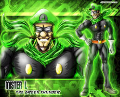 Mr.L-The Green Thunder by LinkerLuis