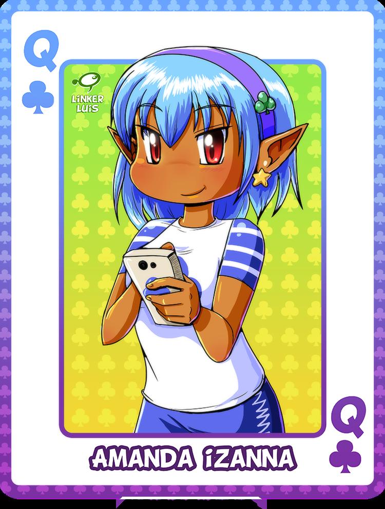 Amanda Chibi Card