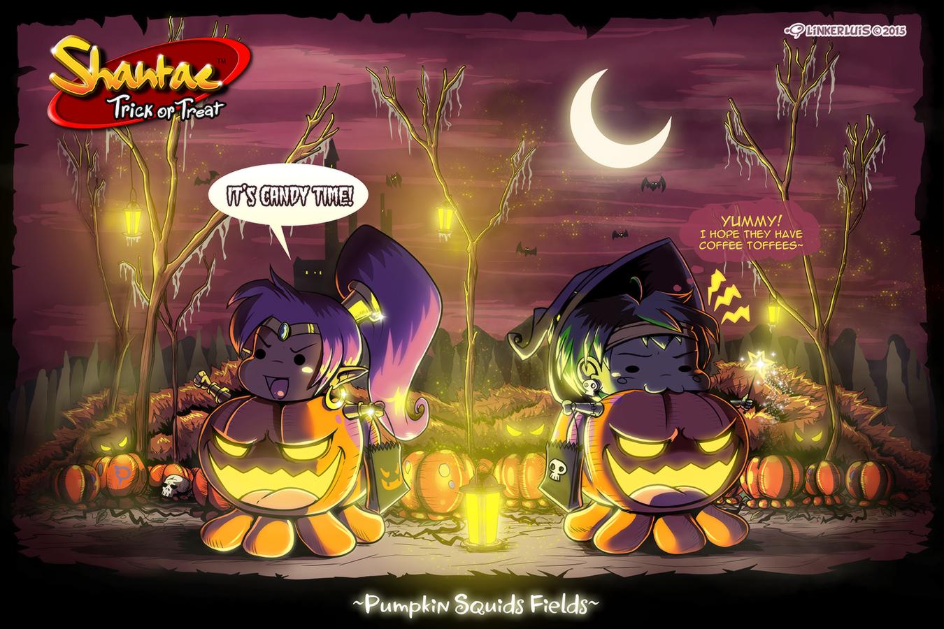 Shantae trick or treat