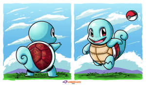 Squirtle by LinkerLuis