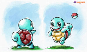 Squirtle (Alt) by LinkerLuis