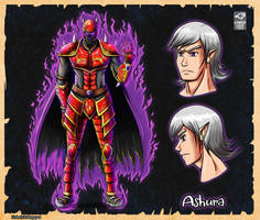 Ashura (Old) by LinkerLuis