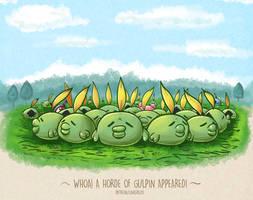 Gulpin Horde by LinkerLuis