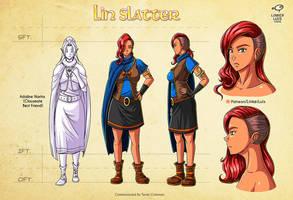 Lin Slatter by LinkerLuis