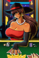 (Comm) If you like to gamble, I'm your Girl by LinkerLuis