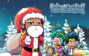 Feliz Navidad con Shantae by LinkerLuis
