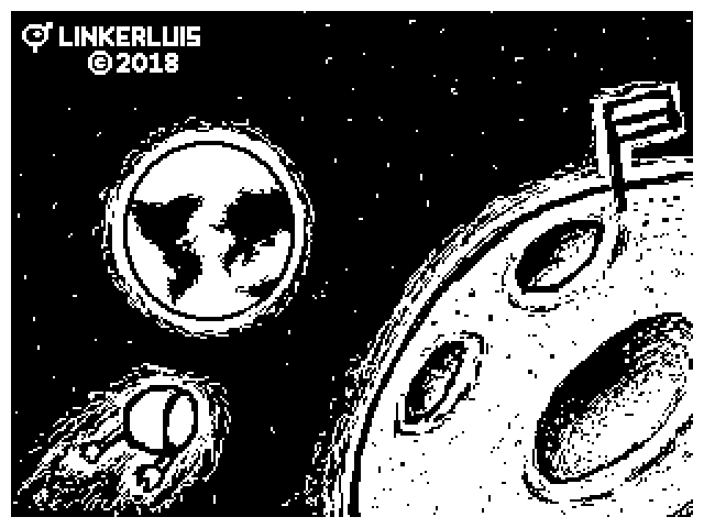 Flipnote Drawing - Space