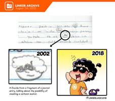 (2002) Linker doodle