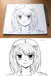 Haruhi portrait