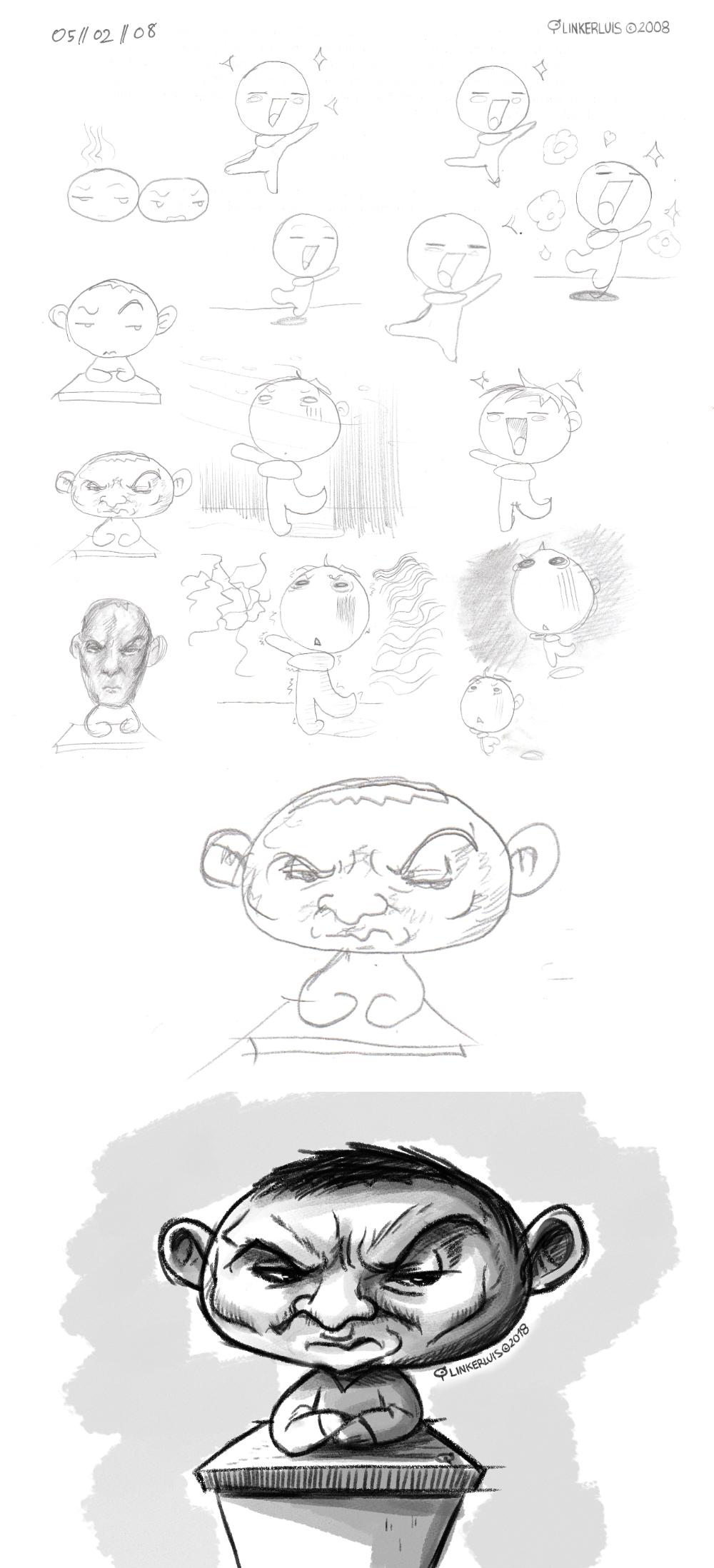 Sketchdump (05/02/08) by LinkerLuis